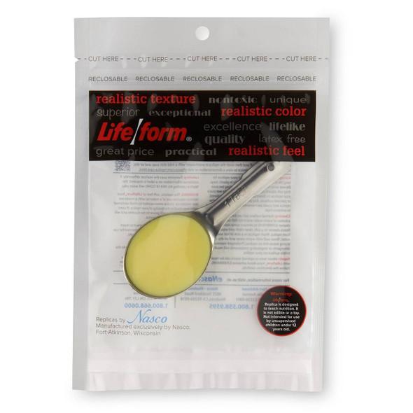 Nasco Margarine in measuring spoon Food Replica - 1 tbsp 1