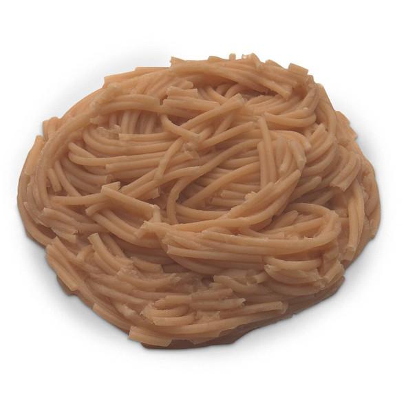 Nasco Spaghetti Food Replica - Whole Grain - 1/2 cup