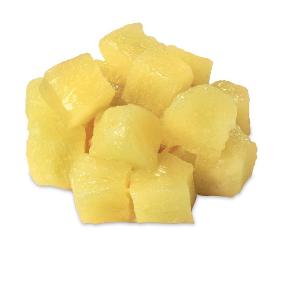 Nasco Pineapple Food Replica - Chunks - 1/2 cup