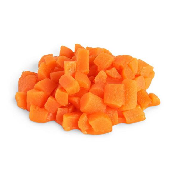 Nasco Carrots Food Replica - Diced - 1/4 cup
