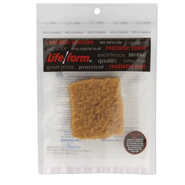 Nasco Fish Patty Food Replica - Fried - 3 oz 1