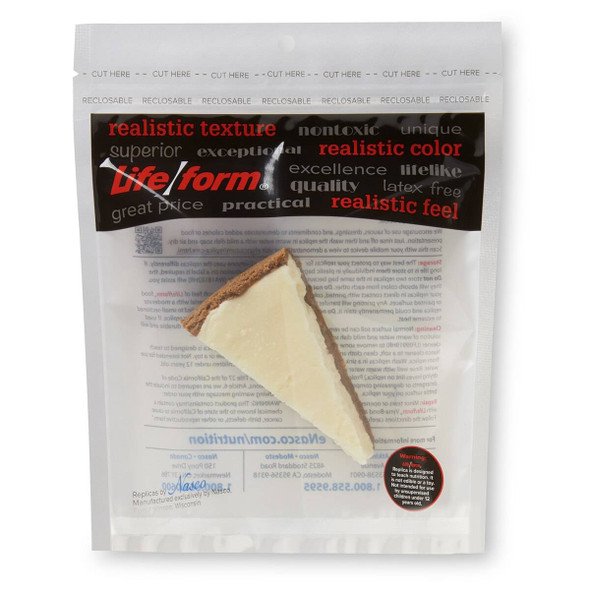 Nasco Cheesecake Food Replica - 4.5 oz 1