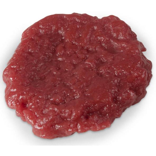 Nasco Ground Round Food Replica - Raw - 3 oz
