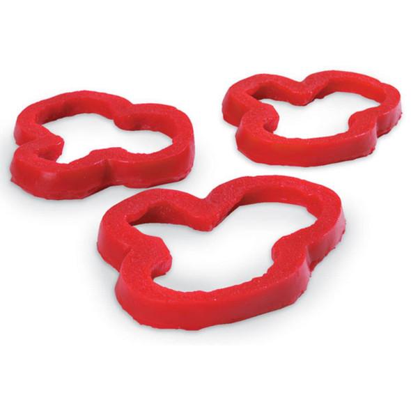 Nasco Pepper Rings Food Replica - Red - 3 count