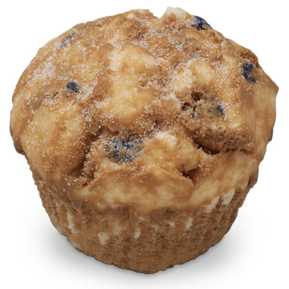 Nasco Muffin Food Replica - Blueberry - 4 oz