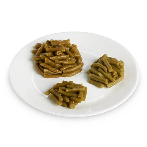 Nasco Beans Food Replica - Green - 1 cup 240 ml 1