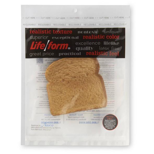 Nasco Bread Food Replica - Toasted White 1