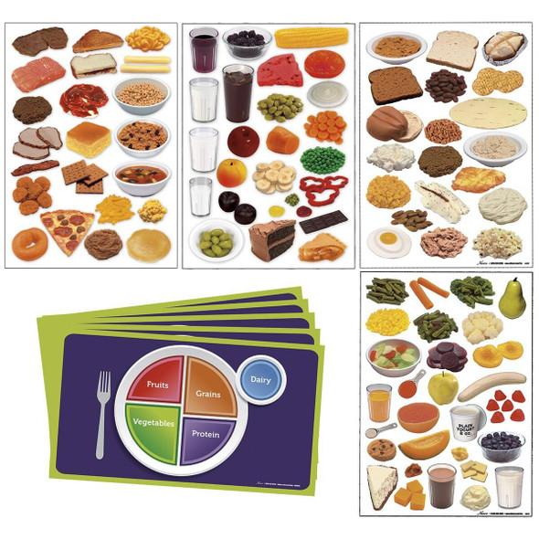 Nasco MyPlate Complete Cling Kit