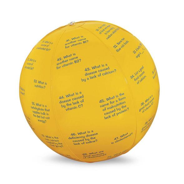 Nasco Nutrition Facts Toss-Up Ball