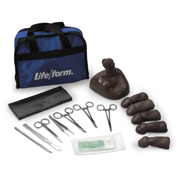 Life/form Teen 13-14 years old Circumcision Training Kit - Dark