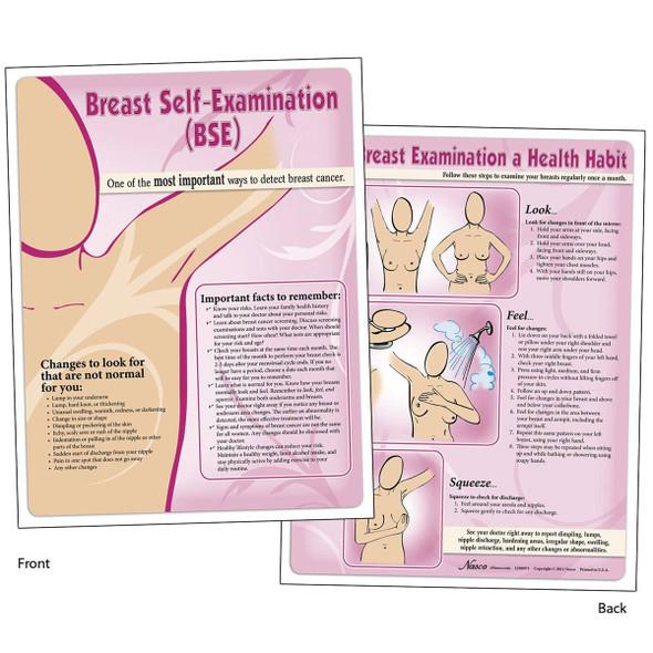 Nasco Breast Self-Examination TearPad