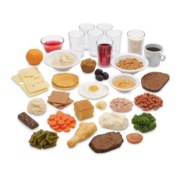 Nasco Older Americans Food Replica Kit