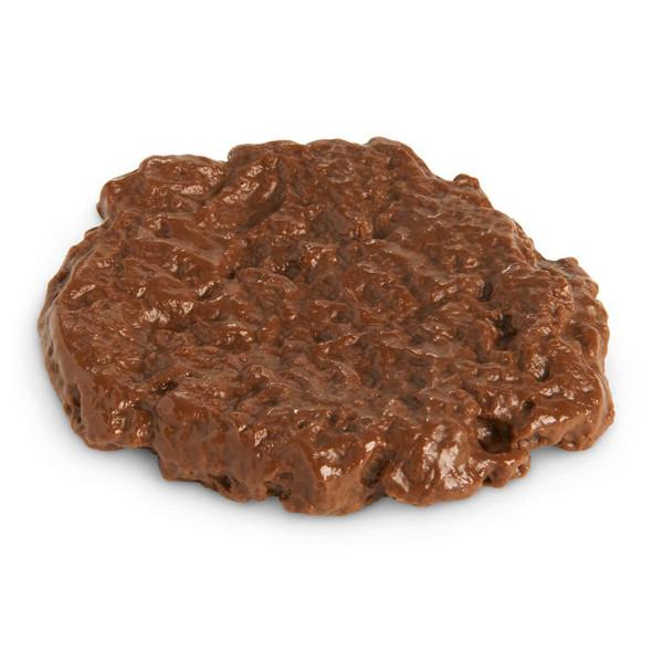 Nasco Hamburger Food Replica - Broiled - 85percent Lean