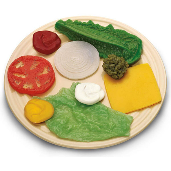 Nasco Toppings and Condiment Food Replica Kit