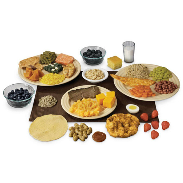 Nasco Native American Food Replica Set