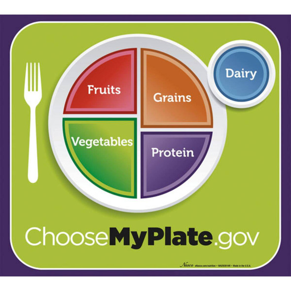 MyPlate Poster - 20 in x 18 in