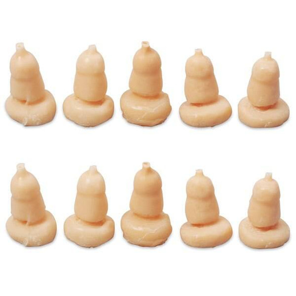 Life/form Replacement Glans and Foreskins - 10 pack - White