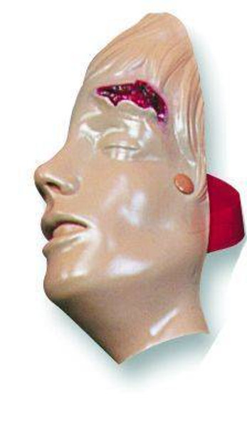Laceration Of The Forehead Model Manikin Only