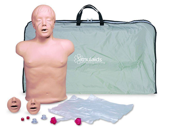 Brad Ethnic CPR Manikin With Carry Bag
