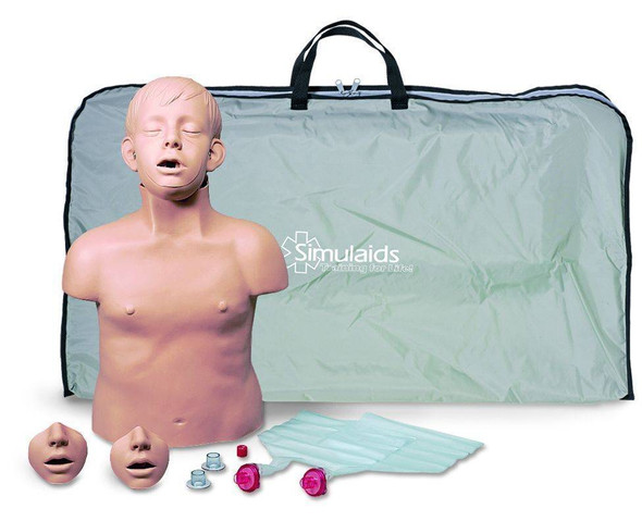 Brad Jr CPR Torso With Carry Bag