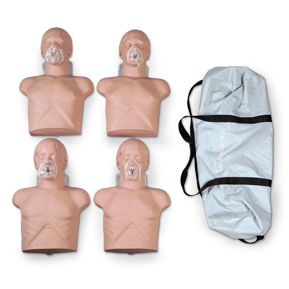 Economy Adult Sani-Manikin With Carry Bag 4-Pack