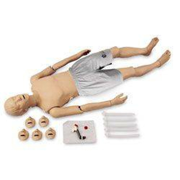 Adult Full Body CPR and Trauma Training Manikin Caucasian