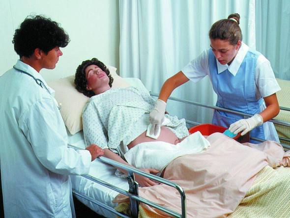 Male and Female CPR and Patient Care Manikin
