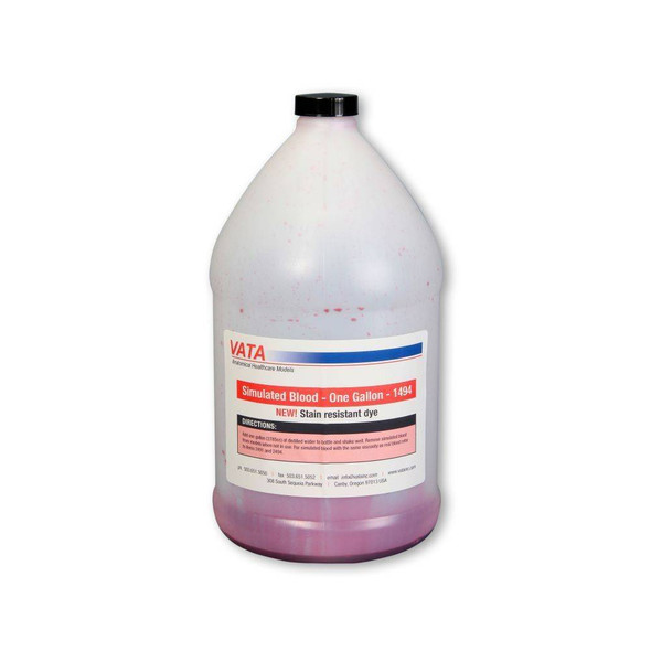 Simulated Blood - Stain Resistant-One Gallon