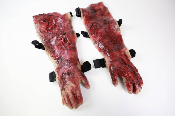 Anatomy Lab Moulage - Wearable Blast Arms 1