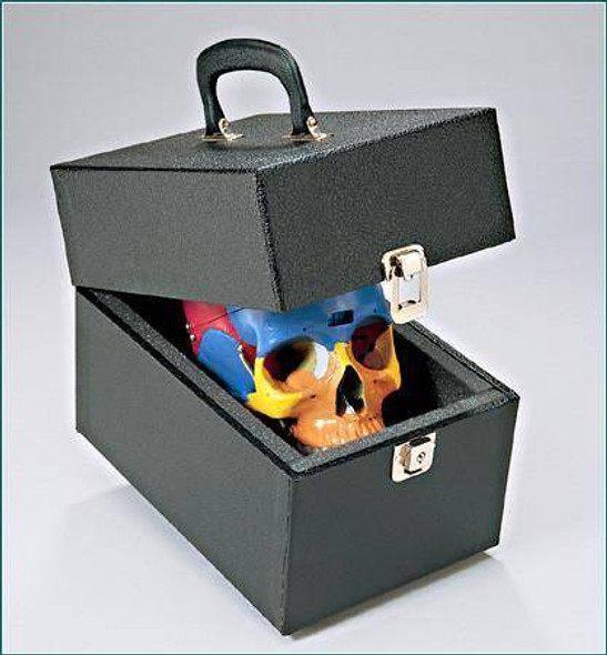 Skull Case with Key-Locking Latch