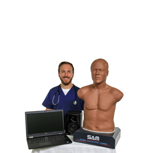 SAM II the Student Ausculatation Manikin - Dark