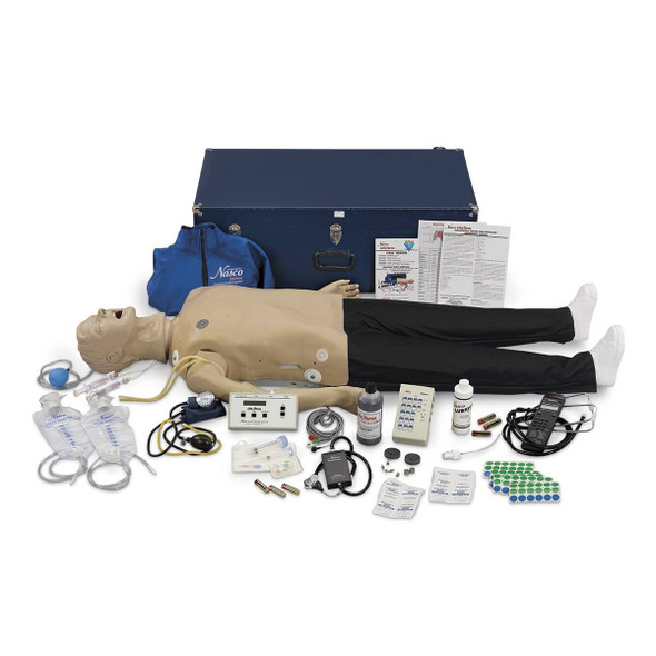 Life/form Deluxe CRiSis Auscultation Manikin with Advanced Airway Management