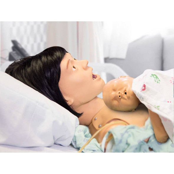 Life/form Lucy Maternal and Neonatal Birthing Simulator - Complete Lucy