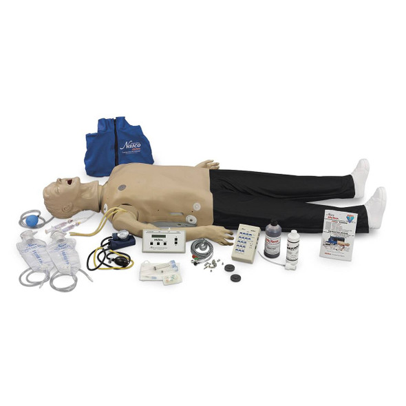Life/form Deluxe CRiSis Manikin with Interactive ECG Simulator and Advanced Airway Management