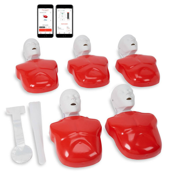 Life/form Basic Buddy Plus 5-Pack powered by Heartisense
