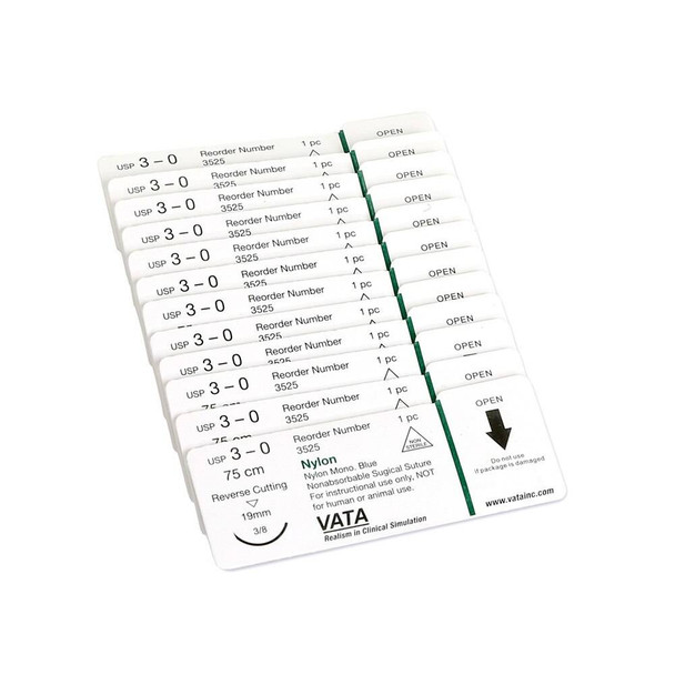 Replacement Sutures for Suture Skills Trainer - 12 Pack