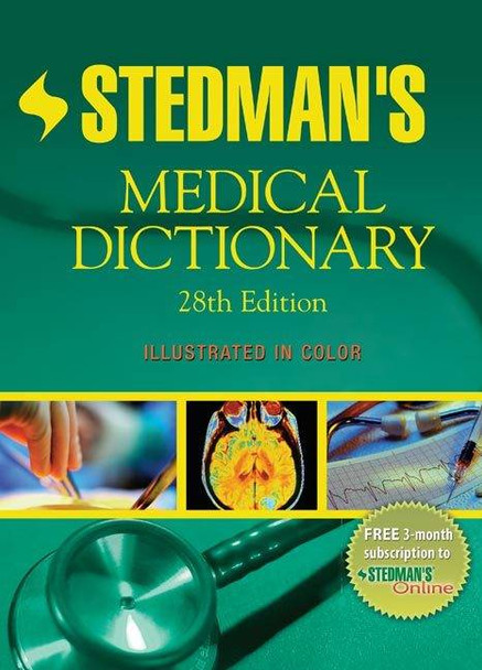 Stedmans Medical Dictionary