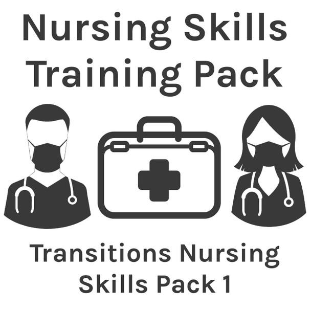 Nursing Skills Training Pack - Transitions Nursing Skills Pack 1
