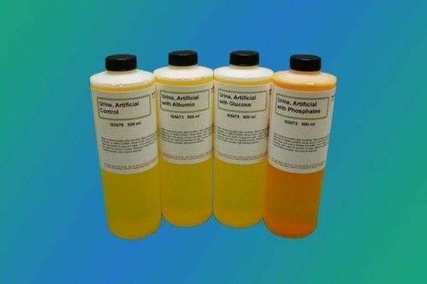 Artificial Urine for Educational Simulation, Set of Four