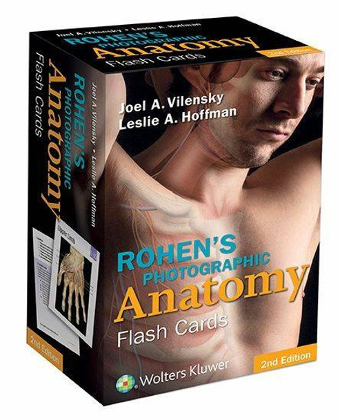 Rohens Photographic Anatomy Flash Cards