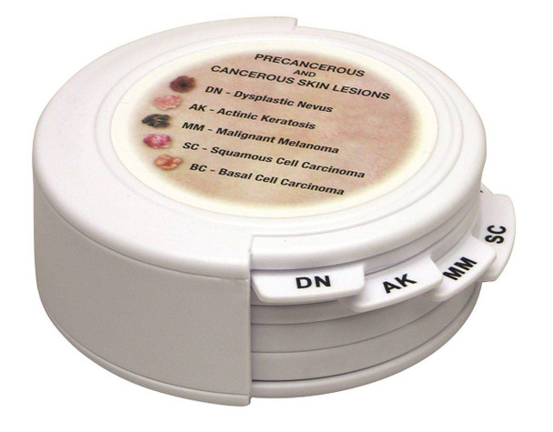 Skin Cancer Disk Set Anatomy Model