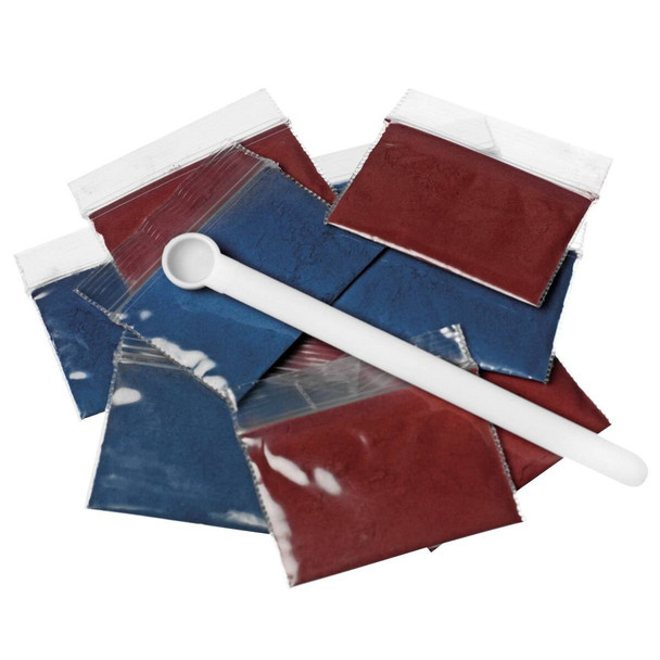 Life/form Replacement Blood Kit, Red and Blue