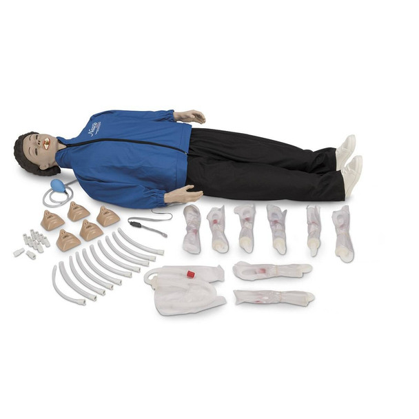 Life/form Electronic Monitoring with CPARLENE - Full-Size Manikin with Electronics - Light
