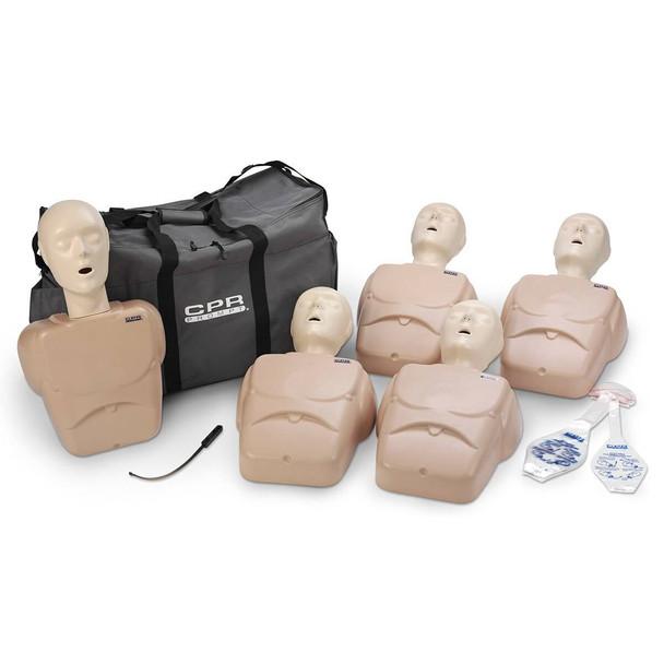 CPR Prompt TPAK 100 Adult/Child Training Pack - 5 Tan Manikins