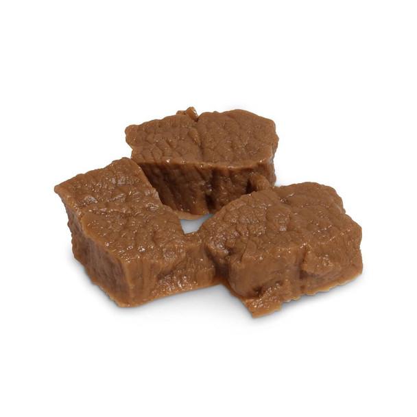 Nasco Beef Cubes Food Replica - Cooked - 3 oz
