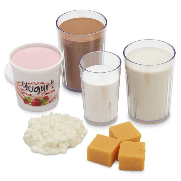 Nasco Basic Dairy Food Replica Kit