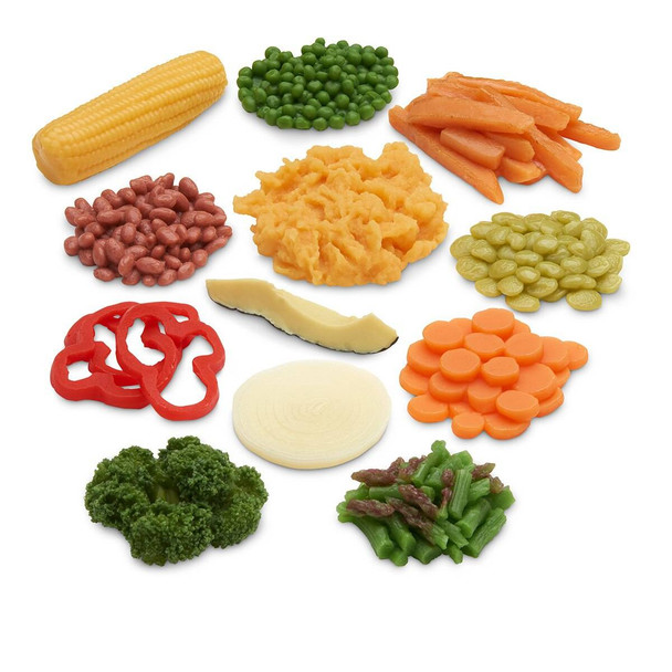 Nasco Big Vegetable Food Replica Kit