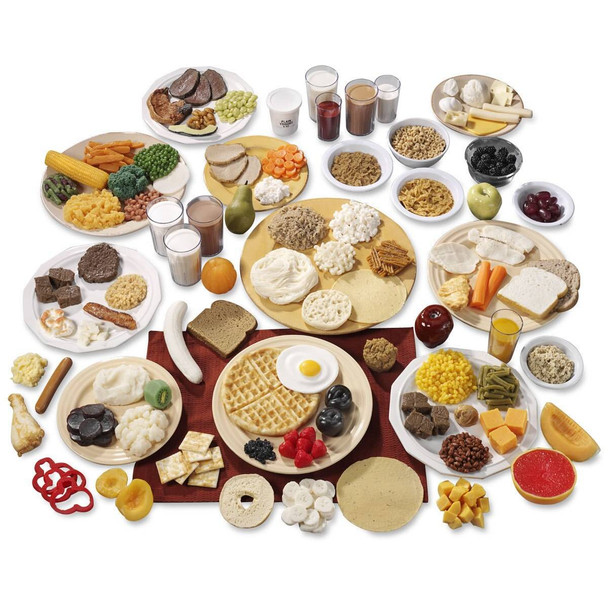 Nasco Basic and Big Kits - 10 Food Replica Group Sets