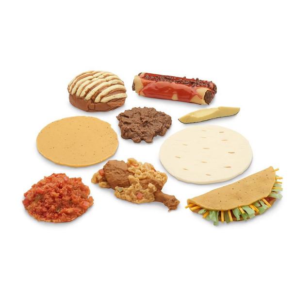 Nasco Mexican-American Ethnic Food Replica Set