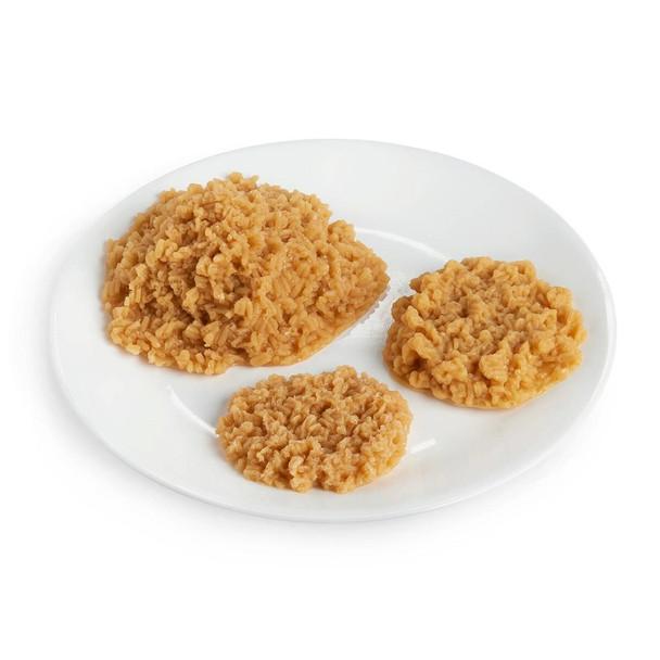 Nasco Rice Food Replica - Brown - 1/3 cup 80 ml